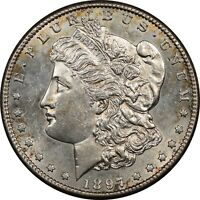 1897-S MORGAN DOLLAR - UNCIRCULATED