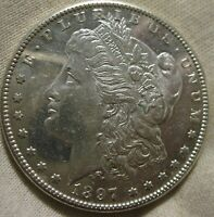 1897 S MORGAN DOLLAR PROOF LIKE NEAR DMPL UNCIRCULATED BETTER DATE