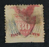 CKSTAMPS: US STAMPS COLLECTION SCOTT121 30C PICTORIAL USED T