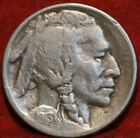 1913 S SAN FRANCISCO MINT TYPE II BUFFALO NICKEL