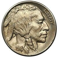 1916 BUFFALO NICKEL GEM BU   GREAT STRIKE