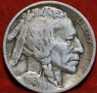 1916 D  DENVER MINT BUFFALO NICKEL