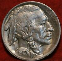 1913 S SAN FRANCISCO MINT TYPE I BUFFALO NICKEL