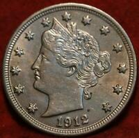 1912 PHILADELPHIA MINT LIBERTY NICKEL