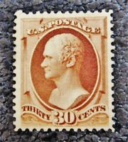 NYSTAMPS US STAMP  217 MINT OG H $325