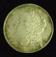 1878 7 TF REVERSE 78 MORGAN SILVER DOLLAR AU PRETTY REVERSE     7886