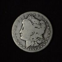 1899-S $1 MORGAN SILVER DOLLAR TOUGHER DATE US TYPE COIN
