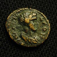16 LYDIA APOLLONIS BUST OF SENATE RV BUST OF TYCHE 2.35 G 14 6MM 2ND CENTURY AD