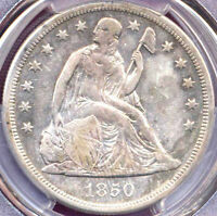 1850-O $1 - PCGS GENUINE- CLEANED EXTRA FINE  DETAILS - LIBERTY SEATED DOLLAR