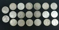 1878-1900 20 MORGAN SILVER DOLLARS VF/BETTER  MIXTURE 19 DIFFERENT DATE I512