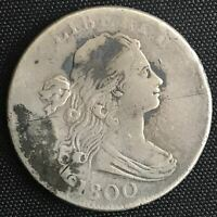 1800 DRAPED BUST LARGE CENT F-VF