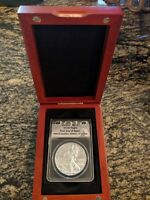2012 SILVER EAGLE ANACS MS70 FIRST DAY OF ISSUE LIMITED EDITION COIN 2873/13329