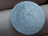1840-1859 SILVER SEATED LIBERTY DIME- LOWBALL, HEAVILY WORN