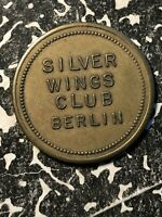 UNDATED BERLIN 25 CENTS GERMANY TOKEN LOTN304 SILVER WINGS CLUB