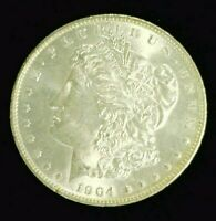 1904-O MORGAN SILVER DOLLAR CHOICE BU   8135