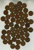 ROLL OF 50 1949 S  LINCOLN PENNIES