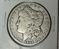 1894-O MORGAN SILVER DOLLAR CIRCULATED NEW ORLEANS MINT 92019