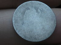 1860-1891 SILVER SEATED LIBERTY DIME- LOWBALL, HEAVILY WORN