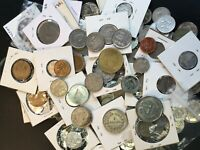 BULK LOT OF 250  ASSORTED MIXED CARIBBEAN COINS LOTA003 EXAC