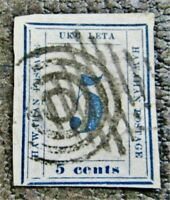 NYSTAMPS US HAWAII STAMP  21 USED $700 PLATE 9A PO III