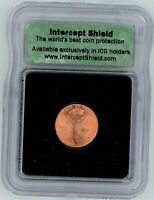ICG SAMPLE SLAB   2000 D LINCOLN CENT