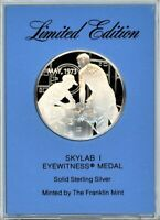 FRANKLIN MINT EYEWITNESS MEDAL   SKYLAB 1