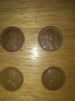 1917 S PENNY 1916 D PENNY 1913 D AND 1941 PENNY