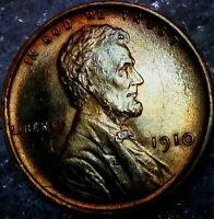 1910-P LINCOLN WHEAT CENT