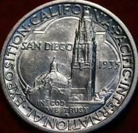 UNCIRCULATED 1935 S SAN FRANCISCO MINT SAN DIEGO  SILVER COM