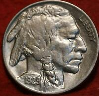 1929 PHILADELPHIA MINT  BUFFALO NICKEL