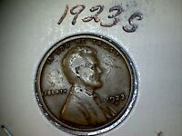 1923 S LINCOLN WHEAT EARS REVERSE SMALL CENTS