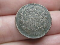 1865 TWO 2 CENT PIECE- CIVIL WAR TYPE COIN, FANCY 5