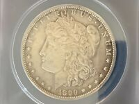 1899-S MORGAN SILVER DOLLAR EXTRA FINE  40 DETAILS POLISHED