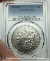 1894-O PCGS EXTRA FINE 45 MORGAN SILVER DOLLAR  KEY DATE WITH STUNNING EYE APPEAL