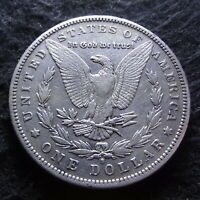 1892-S MORGAN SILVER DOLLAR - CHOICE VF DETAILS FROM THE SAN FRANCISCO MINT