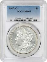 1902-O $1 PCGS MINT STATE 63 - MORGAN SILVER DOLLAR
