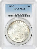 1902-O $1 PCGS MINT STATE 64 - MORGAN SILVER DOLLAR