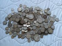 COLLECTION OF 238 ASSORTED CANADA 80  SILVER COIN 30 TROY OU