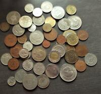 50 DIFFERENT ISLAMIC MIDDLE EAST COINS VARIOUS COUNTRIES  A1