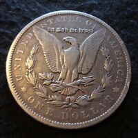 1879-CC MORGAN SILVER DOLLAR - SOLID VF DETAILS FROM THE CARSON CITY MINT
