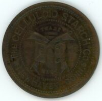 NEW HAVEN CT TOKEN: CELLULOID STARCH CO.