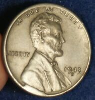 1943 S 1C LINCOLN CENT STEEL WAR PENNY MINT ERROR COIN   CUD