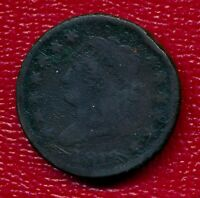 1812 CLASSIC HEAD LARGE COPPER CENT LY CIRCULATED SHIPS FREE