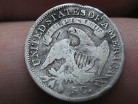 1835 CAPPED BUST HALF DIME- SMALL DATE, SMALL 5C