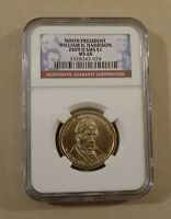 2009 D SMS $1 NINTH PRESIDENT WILLIAM H. HARRISON NGC MINT STATE 68  PRESIDENTIAL DOLLAR