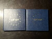 PAIR OF 1976 S U.S. BICENTENNIAL SILVER PROOF SETS   US COIN