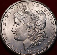 UNCIRCULATED 1878 CC CARSON CITY MINT SILVER MORGAN DOLLAR