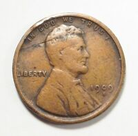 1909 S/VDB  LINCOLN WHEAT CENT