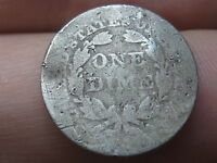 1856 P SEATED LIBERTY SILVER DIME- SMALL DATE