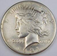 1921 PEACE SILVER DOLLAR   NICE DETAILS